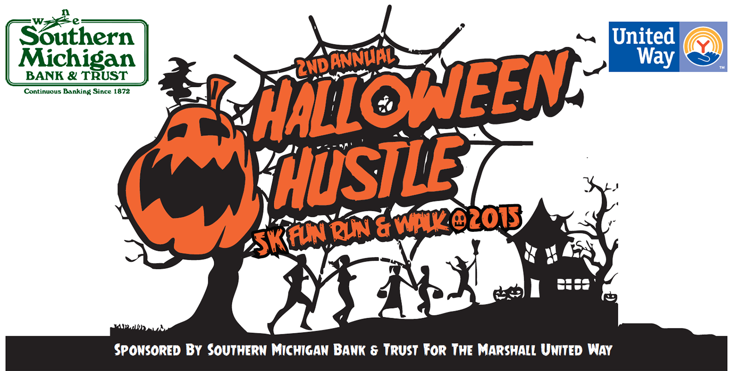 Halloween Hustle 2015 – Marshall United Way – Marshall Michigan