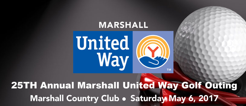 25th Annual Marshall United Way Golf Outing - May 6, 2017