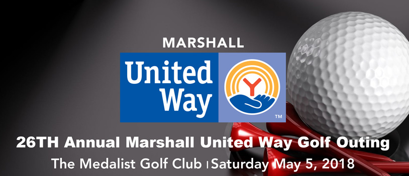26th Annual Marshall United Way Golf Outing - May 5, 2018