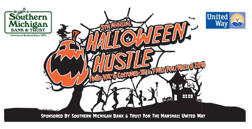Halloween Hustle 2019 – Marshall United Way – Marshall Michigan