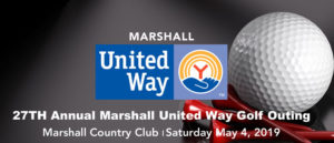 27th Annual Marshall United Way Golf Outing - May 4, 2019