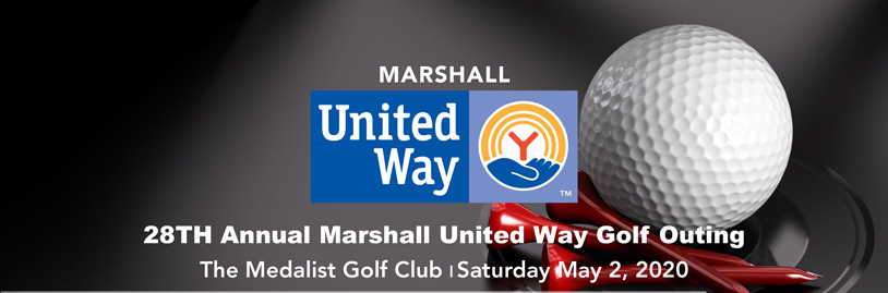 28th Annual Marshall United Way Golf Outing. The Medalist Golf Club - Saturday May 2, 2020